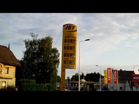 Der Standard des Benzins des Euro 3