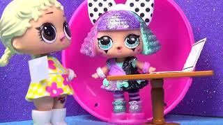 Куклы ЛОЛ Непутевая семейка 5 серия | Мультики с Игрушками | Вероничка Лалалупси