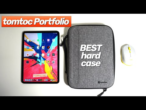 """MUST HAVE hard case for iPad: Tomtoc Portfolio review (demo with 11"""" iPadPro and 9.7"""" iPad Air 2)"""