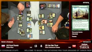 Pro Tour Dragons of Tarkir Round 4 (Standard): Ivan Floch vs. Lee Shi Tian