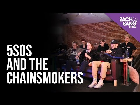5 Seconds Of Summer And The Chainsmokers Talk Who Do You Love & Touring Together