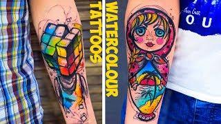 Great Watercolour Tattoos By Vika KIWI