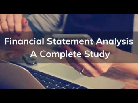 Financial Statement Analysis - Online Course - ₹399   FINANCIAL ...