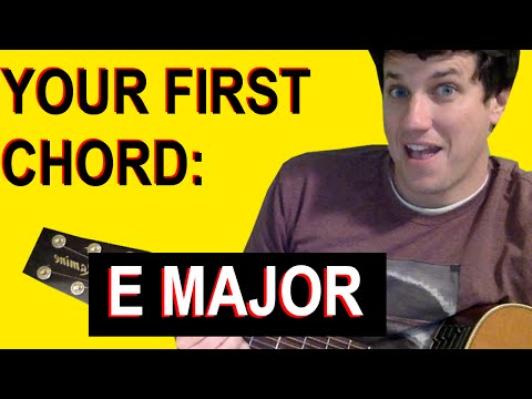Guitar Lessons for Beginners:Your First Chord - E Major