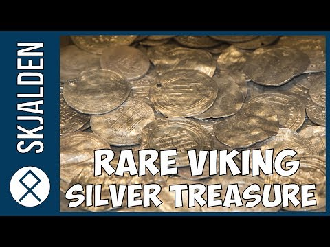 Rare Viking Silver Treasure of the Danish King Bluetooth found in northern Germany
