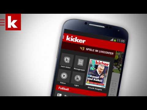 Video of kicker Fußball News
