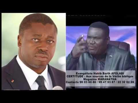 Pasteur Afolabi: Faure, quand ton père a forcé le 3e mandat Dieu l'a éliminé. Souviens-toi!