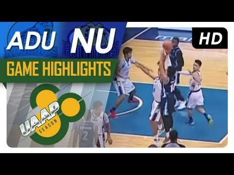 AdU vs. NU | Game Highlights | UAAP 80 Men's Basketball | September 24, 2017