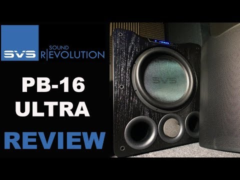 SVS PB16 ULTRA Review | BEST HOME THEATER SUBWOOFER?