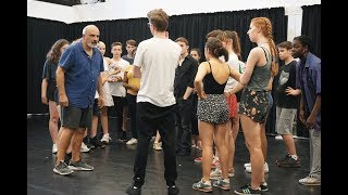 VIDEO: South London Youth Theatre auditions for Sweeney Todd