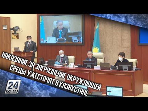 Наказание за загрязнение окружающей среды ужесточат в Казахстане
