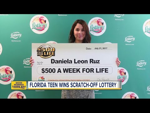 18-year-old Orlando girl claims $500 A Week For Life top prize from Florida Lottery scratch-off game