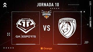 GA Esports VS Dragons E.C.   Jornada 10   Temporada 2018/2019