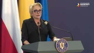Dăncilă: Colaborarea româno-polonă s-a dezvoltat într-un parteneriat strategic puternic, viabil şi orientat spre viitor