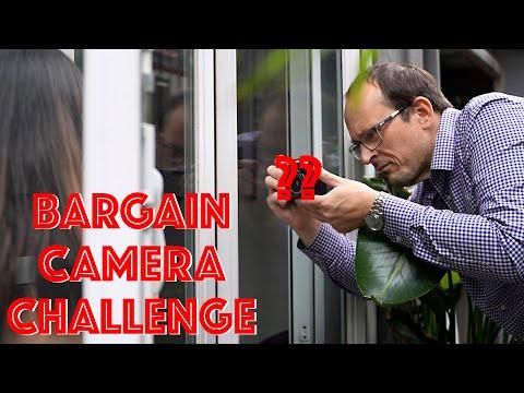 Bargain Camera Portrait Shoot!