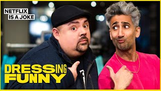 Tan France Gives Gabriel Iglesias An Anti-Fluffy Makeover | Dressing Funny | Netflix Is A Joke