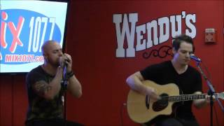 Daughtry Outta My Head at Mix 1077