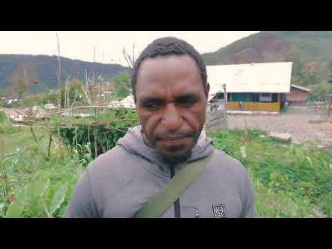 Binmas Noken Ajarkan Pertanian di Kampung Wiringgame Distrik Pagaleme Kabupaten Puncak Jaya