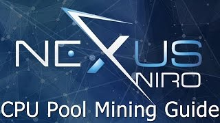 Nexus CPU Pool Mining Guide