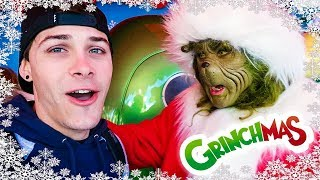 The Grinch Got Mad at Me | Grinchmas Universal Hollywood 2018