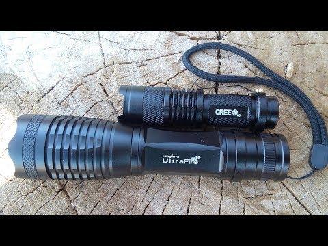 Светодиодный фонарь c 5-ю режимами света!