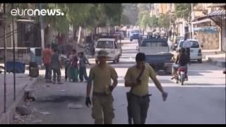 Турецкая армия и протурецкая Свободная сирийская армия продолжили сегодня наступление вглубь Сирии