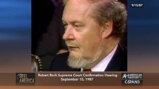 Reel America: Bork Supreme Court Confirmation Hearings - Preview