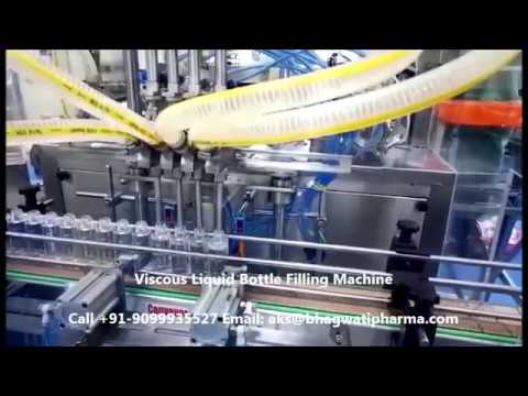 Viscous Liquid Filling Machines