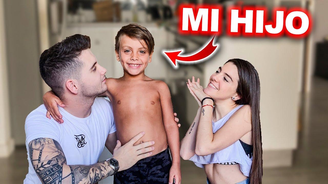 Andros conoce a su hijo en Argentina