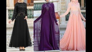 أجمل فساتين تركية للمحجبات 2019 بألوان وتصاميم تاخد العقل Turkish dress
