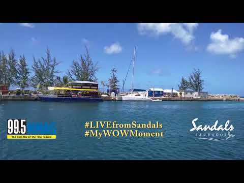 Lora Songster @Sandals Barbados