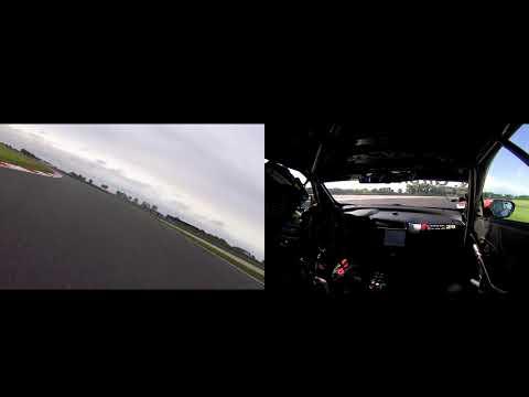Car vs bike at Slovakia - Honda EWC and WTCR