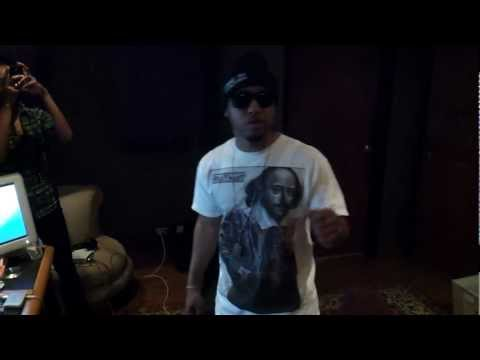 Gas In My Blunt (Behind the Scenes Studio Session)