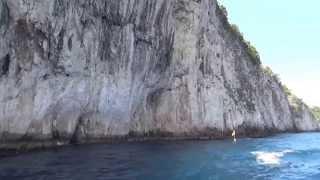 preview picture of video 'Capri grotto'