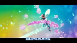 Winx Club 2:Believix 3D Transformation HD! [Rai English | Official Song!]