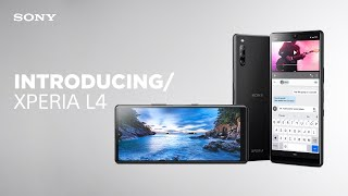 YouTube Video LdZRaiML2aQ for Product Sony Xperia L4 Smartphone by Company Sony Electronics in Industry Smartphones