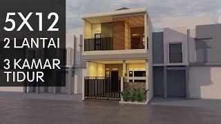 Minimalisfuzziblog Desain Rumah Minimalis Ukuran 5x12