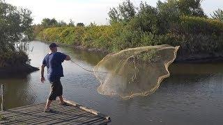 Как сделать сетку для ловли рыб