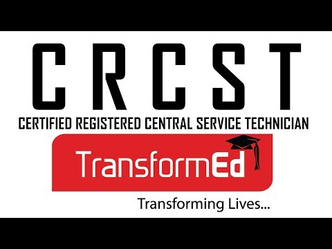 CERTIFIED REGISTERED CENTRAL SERVICE TECHNICIAN ...