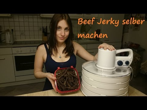 Beef Jerky selber machen | Rommelsbacher Dörrautomat | Trekking Nahrung