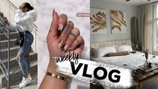 WEEKLY VLOG   ROOM MAKEOVER + SHOPPING + PRODUCTIVE WEEK + MAINTENANCE   ALLYIAHSFACE VLOGS