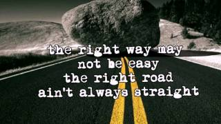 Walk on the Rocks-(lyrics)  Alan Jackson
