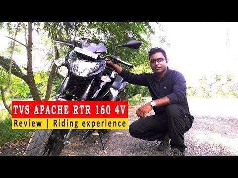 Visor / Windshield on TVS Apache RTR 160 4V (Hindi) Review