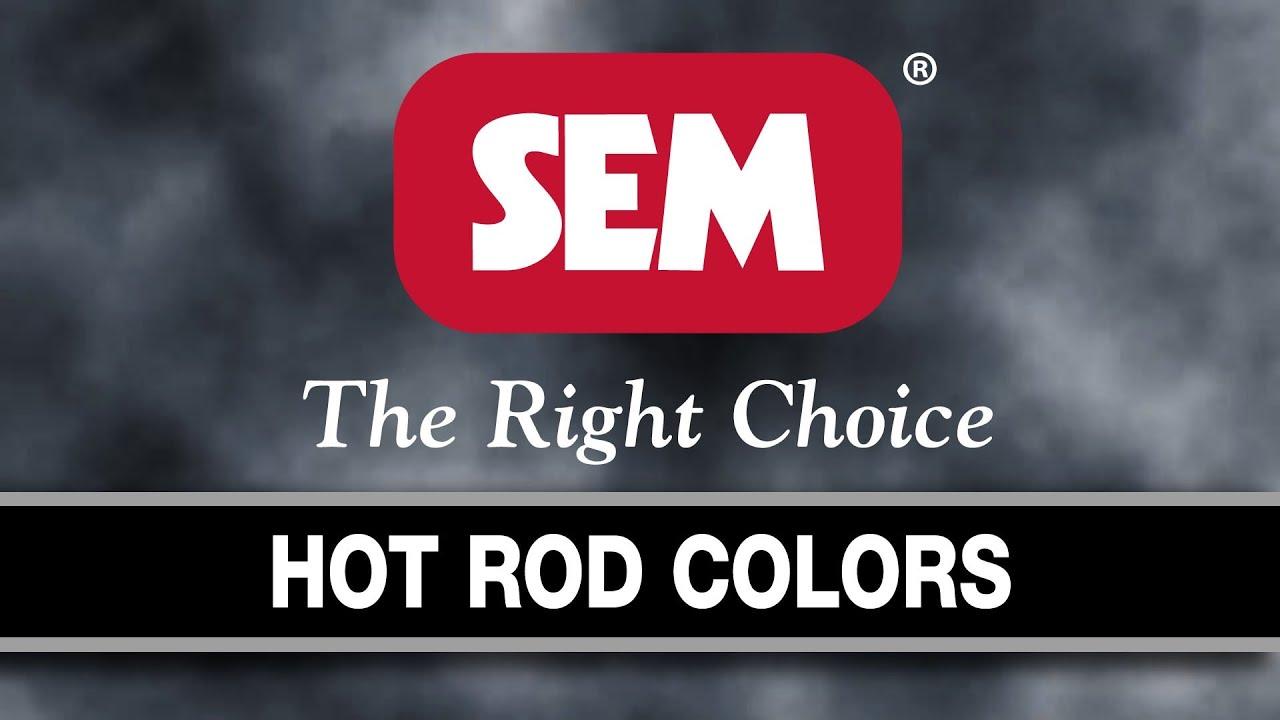 Hot Paint Colors low voc hot rod color kits | kits | sem products