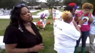 Kim McCoy Sings I Miss You At Memorial Service