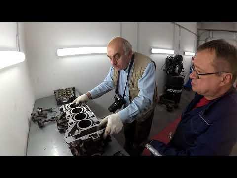 Экспертиза застучавшего мотора BMW N20 экспертом