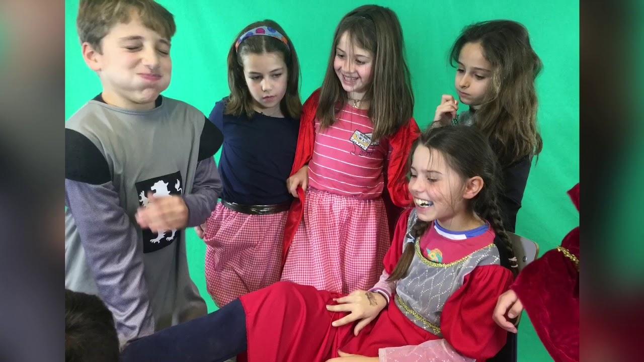 La Cenicienta 2018 - Momentos del rodaje - Kids in Black