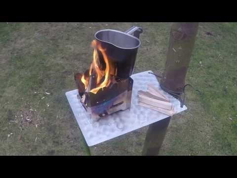 Outdoor Tisch Hitzeblech Baumtisch Selber Bauen