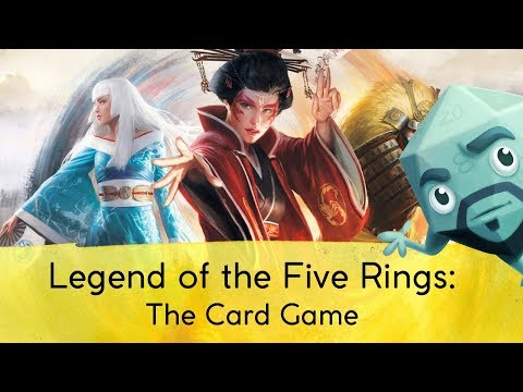 Legend of the Five Rings: The Card Game Review – with Zee Garcia