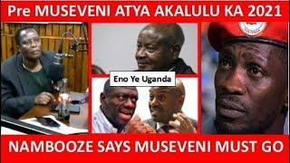 Hon Betty Nambooze Anyonyode Ku Butakkanya Bwa Hon Bobi WIne , Museveni Ne Besigye. Museveni Must Go